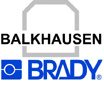 Logo for Balkhausen, precision die-cut products and solutions, located in Syke, Germany